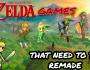 Top 5 Zelda Games That NeedRemakes!